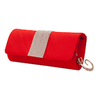 Quincy clutch Red