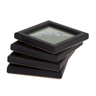 Celestial charm coaster set Green