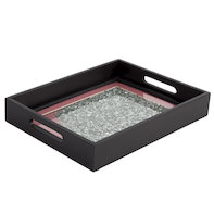 Pink sparkle tray