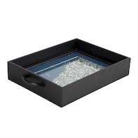 Blue sparkle tray