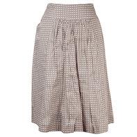 Delphine pleated skirt