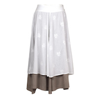 Kalina embroidered skirt